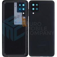 Samsung Galaxy A12 (SM-A125F) Battery Cover (GH82-24487A) - Black