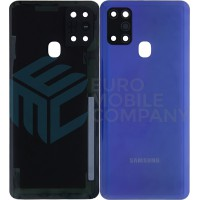 Samsung Galaxy A21s (SM-A217F/DS) Battery Cover - Blue