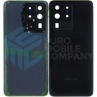 Samsung Galaxy S20 Ultra (SM-G988B/DS) Battery Cover - Black