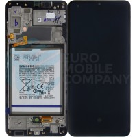 Samsung Galaxy A32 4G 2021 SM-A325 (GH82-25611A/GH82-25612A) Display Complete With Battery - Black