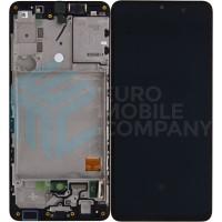 Samsung Galaxy A41 SM-A415F (GH82-23019A) Display - Black