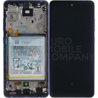 Samsung Galaxy A52 4G/5G 2021 SM-A525F SM-A526B (GH82-25230C/GH82-25229C) Display Complete With Battery - Awesome Violet
