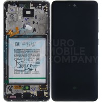Samsung Galaxy A52 4G/5G 2021 SM-A525F SM-A526B (GH82-25230D/GH82-25229D) Display Complete With Battery - Awesome White