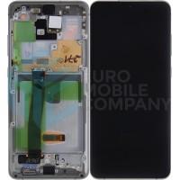 Samsung Galaxy S20 Ultra SM-G988F (GH82-22271C) Display Complete - White