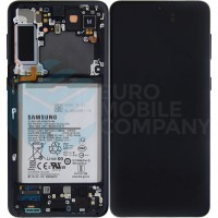 Samsung Galaxy S21 Plus SM-G996 (GH82-24555A) Display Complete With Battery - Black