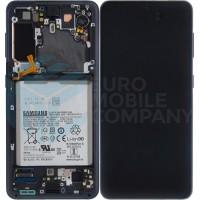 Samsung Galaxy S21 SM-G991B (GH82-24716A) Display Complete With Battery - Phantom Grey