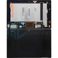 Sony Xperia Tablet Z Display + Digitizer + Frame - Black