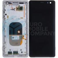 Sony Xperia XZ3 LCD + Digitizer + Frame  - Silver White