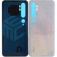 Xiaomi Mi Note 10 Battery Cover - Glacier White