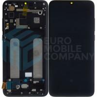 Xiaomi Mi 9 Lite LCD + Touchscreen + Frame (OEM) - Black