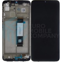Xiaomi Poco M3 2020 (M2010J19CG) OEM Display Complete With Frame - Black