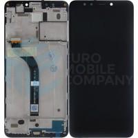 Xiaomi Redmi 5 Display + Digitizer With Frame - Black