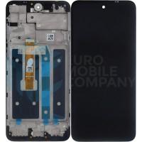LG K42 Display + Digitizer + Frame - Black