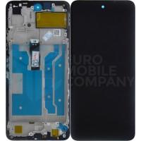 Huawei P Smart 2021 Display + Digitizer - Frame - Black