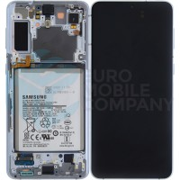 Samsung Galaxy S21 Plus SM-G996 (GH82-24555C) Display Complete With Battery - Silver