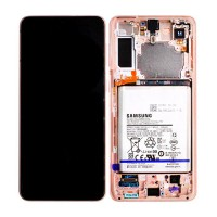 Samsung Galaxy S21 Plus SM-G996 (GH82-24555B) Display Complete With Battery - Violet