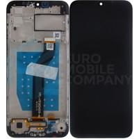 Motorola Moto G8 Power Lite Display + Frame (5D68C18031) - Dark Blue