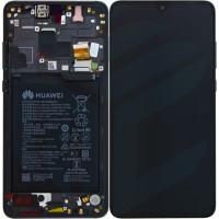 Huawei Mate 20 02352ETG (HMA-L09/ HMA-L29) OEM Service Part Screen Incl. Battery - Black