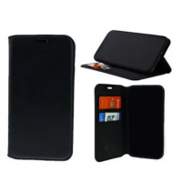 Bookcase For Samsung Galaxy A6(s) (SM-G6200) - Black