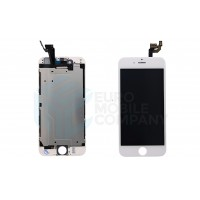iPhone 6 Display + Digitizer + Metal Plate High Quality - White