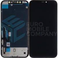 iPhone XR Display + Digitizer Full Original (Service Part) (Toshiba)  - Black