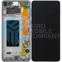 Samsung Galaxy S10 SM-G973F (GH82-18850B) Display Complete - Prism White
