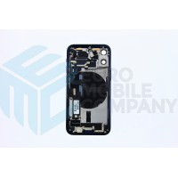 iPhone 12 Mini Middle Frame OEM Pulled (A) Complete With Parts (No Battery) - Blue