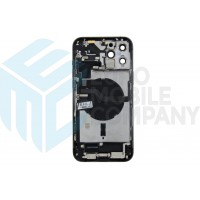 iPhone 12 Pro Max Middle Frame OEM Pulled (A) Complete With Parts (No Battery) - Black