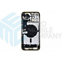 iPhone 12 Pro Max Middle Frame OEM Pulled (A) Complete With Parts (No Battery) - Gold