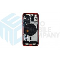 iPhone 12 Middle Frame OEM Pulled (A) Complete With Parts (No Battery) - Red