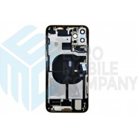iPhone 11 Pro Max Middle Frame OEM Pulled (A) Complete With Parts (No Battery) - Gold