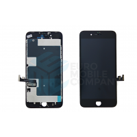 iPhone 8 Plus Display + Digitizer, +Metal Plate A+ High Quality - Black