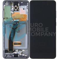Samsung Galaxy S20/S20 5G SM-G980F/SM-G981F (GH82-22131A) Display Complete - Grey/Silver