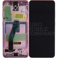 Samsung Galaxy S20/S20 5G SM-G980F/SM-G981F (GH82-22123C) Display Complete - Cloud Pink