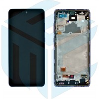 Samsung Galaxy A72 4G/5G 2021 SM-A725/A726 (GH82-25460B) Display Complete (No Battery) - Awesome Blue