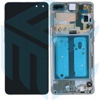 Samsung Galaxy S10 5G SM-G977B (GH82-20442A) Display Complete - Silver
