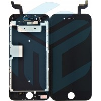 iPhone 6S Display + Digitizer + Metal Plate, In-cell Quality - Black