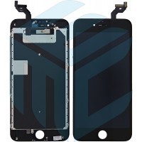 iPhone 6S Plus Display + Digitizer + Metal Plate, In-cell Quality - Black