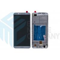Huawei Y7 2018 (LDN-L01/ LDN-L21)/ Y7 Prime 2018/ Honor 7C (LDN-L01/ LDN-L21)/ Y7 Pro/ Nova 2 Lite Display+Digitizer + Frame - White