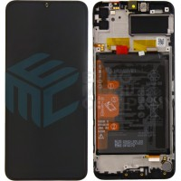 Huawei Y6P (MED-LX9) / Honor 9A (MOA-LX9N) 02353LKV OEM Service Part Screen Incl. Battery - Black