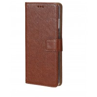 Bookcase For Samsung Galaxy A01 Core - Brown