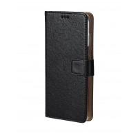 Bookcase For Motorola Moto G4 Plus - Black