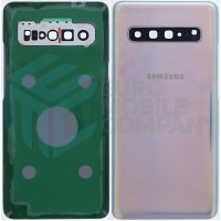 Samsung Galaxy S10 5G SM-G977B Battery Cover - Crown Silver