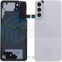 Samsung Galaxy S21 (SM-G991B) Battery Cover (GH82-24520C) - Phantom White