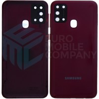 Samsung Galaxy M31 (SM-M315F) Battery Cover - Red