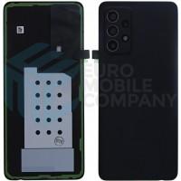 Samsung Galaxy A52 5G (SM-A525F SM-A526B) Battery cover (GH82-25225A) -  Awesome Black