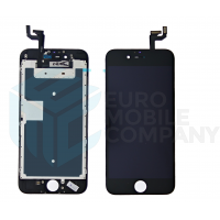iPhone 6S Display + Digitizer, +Metal Plate A+ High Quality - Black