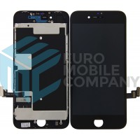 iPhone 8/ iPhone SE (2020) Display + Digitizer, +Metal Plate A+ High Quality - Black