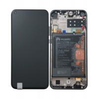 Huawei P40 Lite E 02353FMW (ART-L29) OEM Service Part Screen Incl. Battery - Black