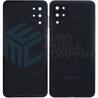Samsung Galaxy A12 (SM-A125F) Battery Cover - Black